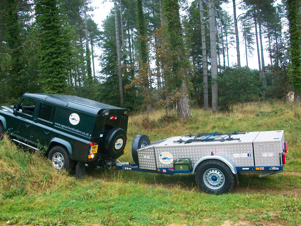 Camping Trailers from AG Overland Trailers - Specialist